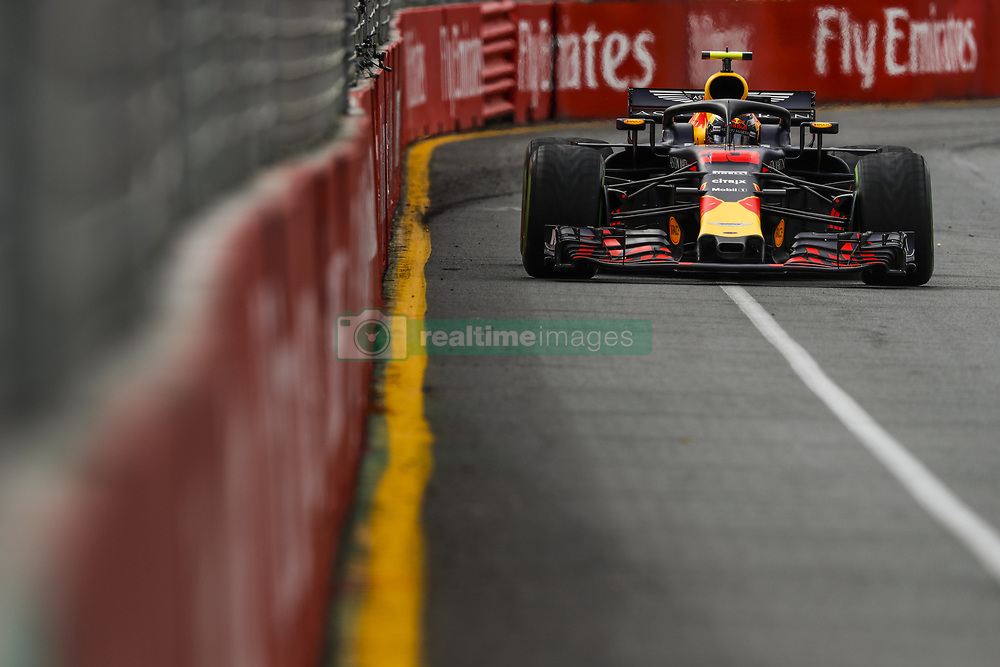 March 24, 2018 - Melbourne, Victoria, Australia - VERSTAPPEN Max (ned), Aston Martin Red Bull Tag Heuer RB14, action during 2018 Formula 1 championship at Melbourne, Australian Grand Prix, from March 22 To 25 - s: FIA Formula One World Championship 2018, Melbourne, Victoria : Motorsports: Formula 1 2018 Rolex  Australian Grand Prix, (Credit Image: © Hoch Zwei via ZUMA Wire)