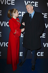 Amy Adams and Adam McKay attends The 'VICE' Premiere in Paris, France on February 07 ,2019 in Paris, France.