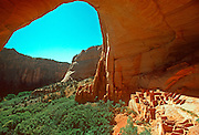 NATIVE NORTH AMERICANS Anasazi; Betatakin cliff dwellings