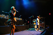 l to r: Fly and D.C.Q performs at Mos Def's Estatic Tour featuring DcQ and Jay Electronica held at the 9:30 Club in Washington D.C on August 9, 2009