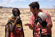 Ben Langdon, Mile 91, working in Turkana, northern Kenya.