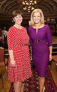 Margo deCourcey McDonnell  Seamount College and Marietta Doran Fashion Consultant at A Vintage and Pre-Loved Fashion Extravaganza held in the Lady Gregory Hotel in Gort . A fundraising event organised by the Parents Council for Seamount's new pitch.  Photo:Andrew Downes