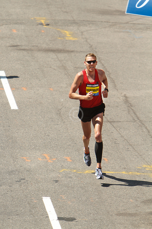 Jason Hartmann approaches finish line in 4th place, top American
