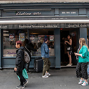 Chatime in London Chinatown Sweet Tooth Cafe and Restaurant at Newport Court and Garret Street on 15 June 2019, UK.