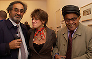 Josh emin,  Tracey Emin  and Enver Emin, Memphis, new work by Tracey Emin, Counter Gallery and afterwards at a Georgian house in Fournier St. Spitafields, 19 November 2003.  © Copyright Photograph by Dafydd Jones 66 Stockwell Park Rd. London SW9 0DA Tel 020 7733 0108 www.dafjones.com