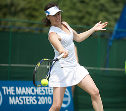MANCHESTER, ENGLAND: Martina Hingis (SUI) on Day 5 of the Manchester Masters Tennis Tournament at the Northern Tennis Club. (Pic by David Tickle/Propaganda)