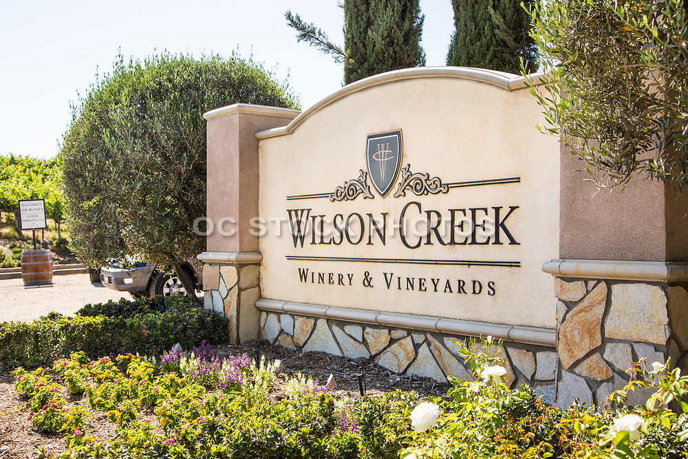 Temecula Wilson Creek Winery Monument