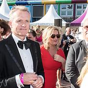 NLD/Amsterdam/20170617 - Amsterdamdiner 2017, Paul de Leeuw en partner Stephan Nugter