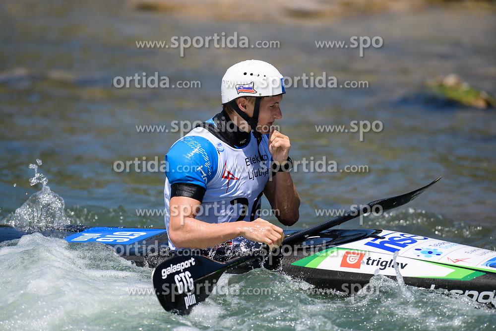 Martin SRABOTNIK of Slovenia during the Kayak Single (K1) Men Final race of 2019 ICF Canoe Slalom World Cup 4, on June 30, 2019 in Tacen, Ljubljana, Slovenia. Photo by Sasa Pahic Szabo / Sportida