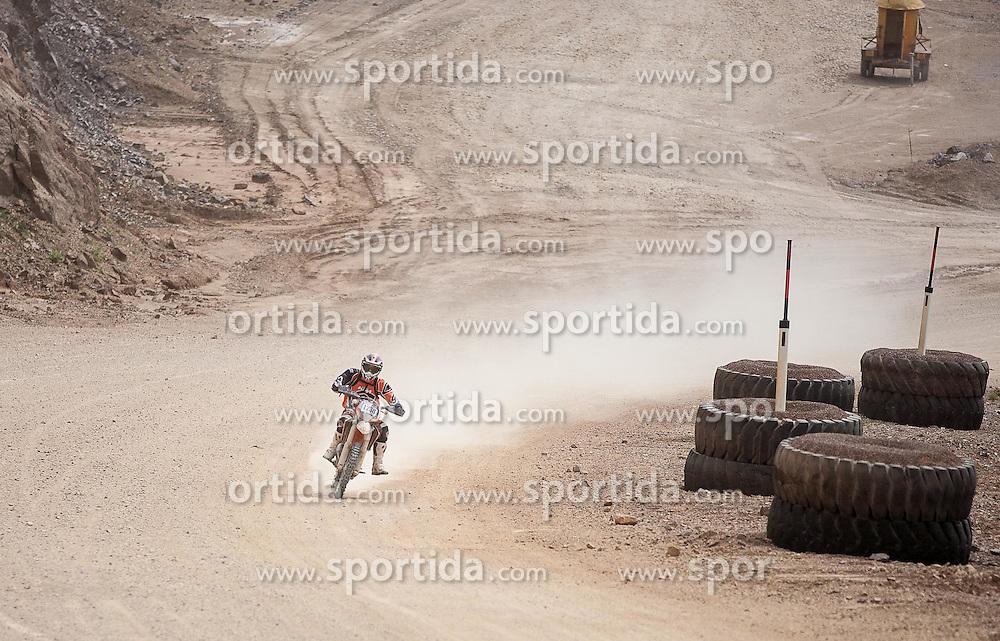 08.06.2012, Erzberg, Eisenerz, AUT, Erzbergrodeo 2012, Iron Road Prolog, im Bild Giuliano Scarparo, (ITA), EXPA Pictures © 2012, PhotoCredit: EXPA/ M. Kuhnke
