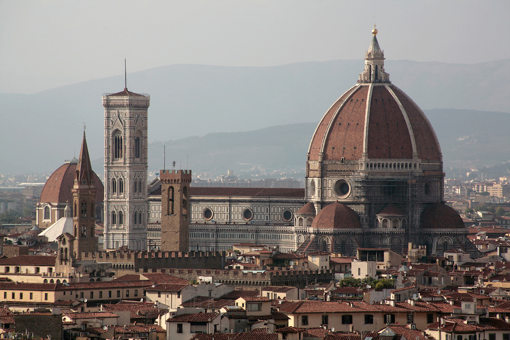 Panoramic from Piazzale Michelangelo, Florence, Italy, Florence, Italy
