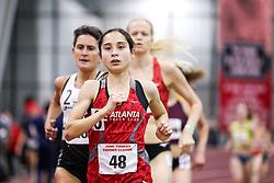 womens 3000 meters, heat 1, Atlanta TC, Meyer<br /> BU John Terrier Classic <br /> Indoor Track & Field Meet
