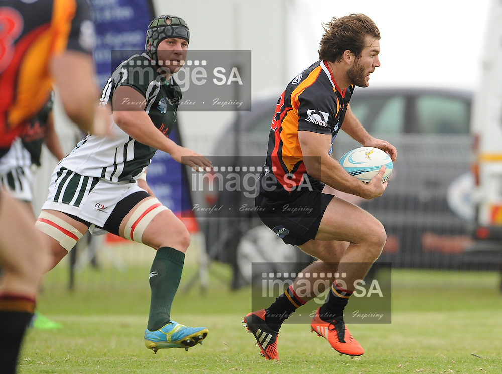 GEORGE, SOUTH AFRICA - Saturday 7 March 2015, Richard Aingworth of Vaseline Wanderers during the third round match of the Cell C Community Cup between Pacaltsdorp Evergreens and Vaseline Wanderers at Pacaltsdorp Sports Grounds, George<br /> Photo by Roger Sedres/ImageSA/ SARU