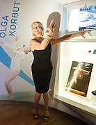 The Olympic Journey <br /> The Story of the Games<br /> at The Royal Opera House, Covent Garden, London, Great Britain <br /> 3rd August 2012 <br /> <br /> <br /> Olga Korbut<br /> Legendary gymnast Olga Korbut celebrates the 40th anniversary of winning three gold medals in Munich with a visit to The Olympic Journey: The Story of the Games at The Royal Opera House, London, Great Britain <br /> 3rd August 2012 <br />  <br /> Olga Korbut<br /> <br /> Deborah Bull<br /> former Creative Director of the Royal Opera House<br /> <br /> Peter Mather - Country Head, UK and Vice President, Europe, BP p.l.c.<br /> <br /> Mike Sharrock <br /> Partnership director