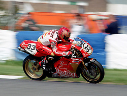 JOHN REYNOLDS ENG RED BULL DUCATI, World Superbike Championship Donington Park  4th May 1997WORLD SUPERBIKE DONN 4/5/1997