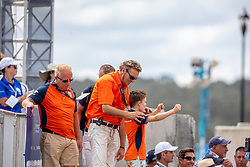 Witte-Vrees Madeleine, NED, Cennin, Family of Madeleine<br /> World Equestrian Games - Tryon 2018<br /> © Hippo Foto - Dirk Caremans<br /> 14/09/18