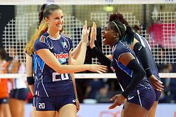 ANNA DANESI E MIRIAM FATIME SYLLA<br /> ITALIA - OLANDA<br /> VOLLEYBALL WORLD GRAND PRIX 2016<br /> BARI 18-06-2016<br /> FOTO GALBIATI - RUBIN