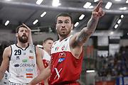 Mike James<br /> A   X Armani Exchange Milano - Leonessa Germani Brescia<br /> LBA Lega Basket Serie A<br /> Zurich Connect Supercoppa 2018<br /> Brescia, 29/09/2018<br /> Foto MarcoBrondi / Ciamillo-Castoria