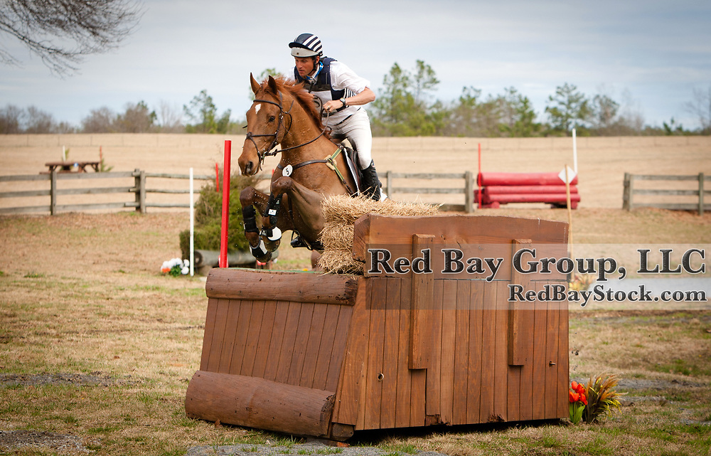 Boyd Martin and Sir Donovan at the 2014 Pine Top Farm Advanced Horse Trials in Thomson, Georgia.