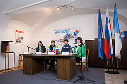 Zan Kosir at press conference of Zan Kosir receprion in Trzic, on March 16, 2018 in Trzic, Slovenia. Photo by Urban Urbanc / Sportida