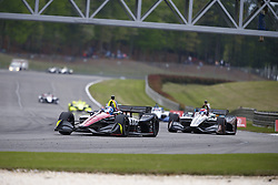 April 23, 2018 - Birmingham, Alabama, United States of America - ROBERT WICKENS (6) of Canada battles for position through the turns during the Honda Grand Prix of Alabama at Barber Motorsports Park in Birmingham, Alabama. (Credit Image: © Justin R. Noe Asp Inc/ASP via ZUMA Wire)