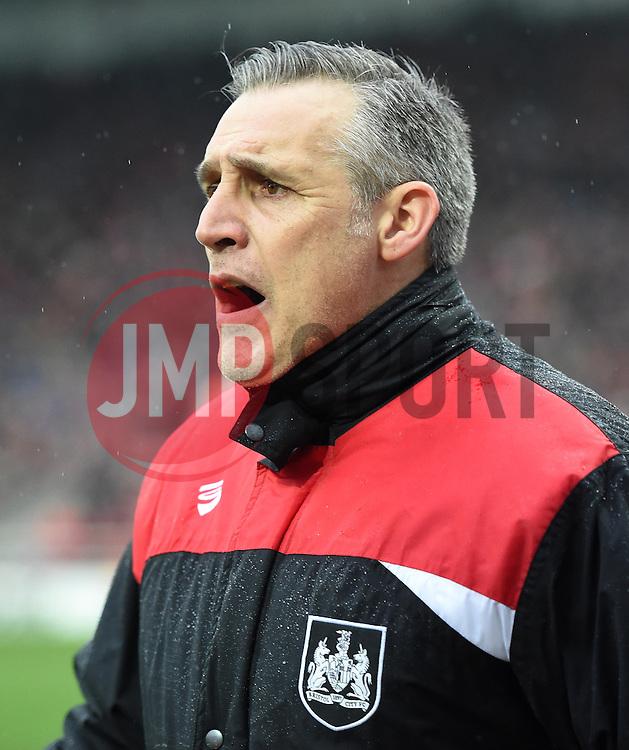 John Pemberton coach of Bristol City - Mandatory by-line: Paul Knight/JMP - Mobile: 07966 386802 - 13/02/2016 -  FOOTBALL - Ashton Gate Stadium - Bristol, England -  Bristol City v Ipswich Town - Sky Bet Championship