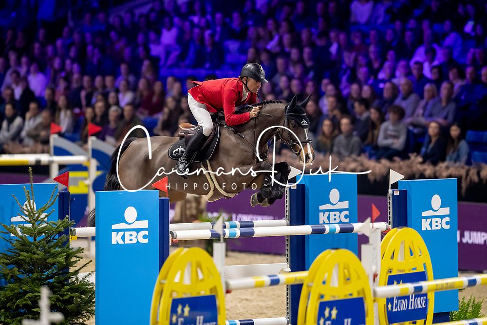 Schwizer Pius, SUI, Cas<br /> Jumping Mechelen 2019<br /> © Hippo Foto - Dirk Caremans<br />  28/12/2019