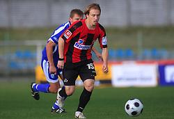Davor Skerjanc (15) of Primorje at 12th Round of PrvaLiga Telekom Slovenije between NK Primorje vs NK Nafta Lendava, on October 5, 2008, in Town stadium in Ajdovscina. Nafta won the match 2:1. (Photo by Vid Ponikvar / Sportal Images)