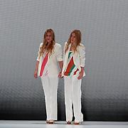 NLD/Amsterdam/20110713 - AIFW 2011 Summer, show Spijker & Spijker,