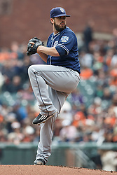 SAN FRANCISCO, CA - MAY 25: James Shields #33 of the San Diego Padres pitches against the San Francisco Giants during the first inning at AT&T Park on May 25, 2016 in San Francisco, California.  (Photo by Jason O. Watson/Getty Images) *** Local Caption *** James Shields