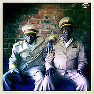 Chief and lackey, The Mozambique Diary, Maua District, Mozambique