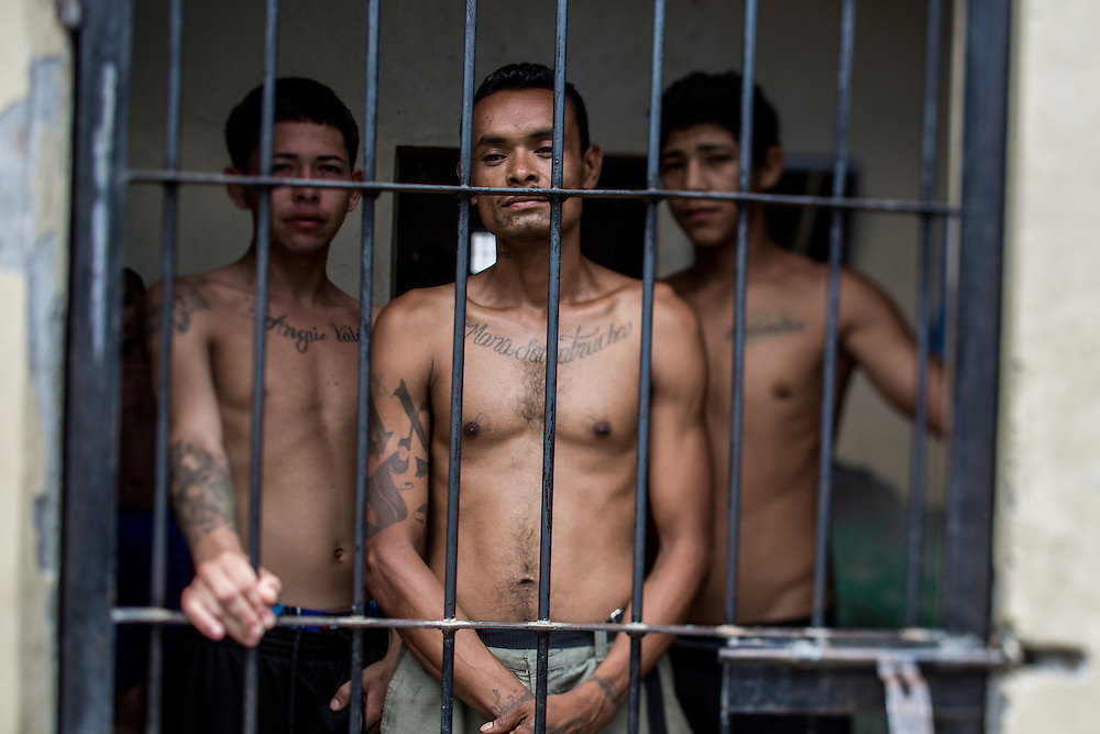 Tegucigalpa, Honduras<br /> Elwin Guill&eacute;m, 37, has been in the Comayaga prison since 1999. He&acute;s convicted of murder on two persons from rival gangs. He was the leader of the gang Mara Salvatrucha, MS-13. He says that he has killed 25 persons. &rdquo;The first one was hard, then a was longing for it, then I felt nothing&rdquo;<br /> In 2012 the Comayagua prison was sett on fire and 356 prisoners died.<br /> <br /> <br /> Photo: Niclas Hammarstr&ouml;m