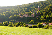 Landschaft und Schloss Zwingenberg am Neckar, Baden-Württemberg, Deutschland   Landscape and Castle Zwingenberg am Neckar, Baden-Wurttemberg, Germany