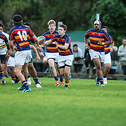 Rugby game played between Tawa Colts and Tawa College 1st XV, at Tawa, Wellington, New Zealand, 30 March 2015.