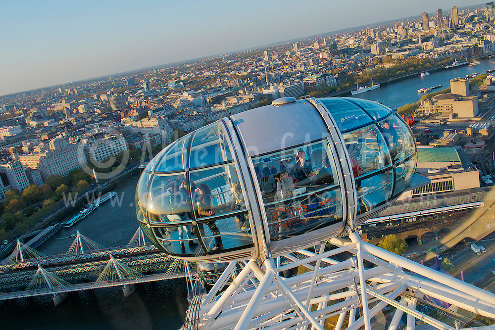 Alberto Carrera, Aerial View from London Eye, London, England, Great Britain, Europe