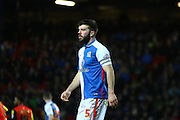 Blackburn Rovers defender, Grant Hanley (5) during the Sky Bet Championship match between Blackburn Rovers and Birmingham City at Ewood Park, Blackburn, England on 8 March 2016. Photo by Pete Burns.