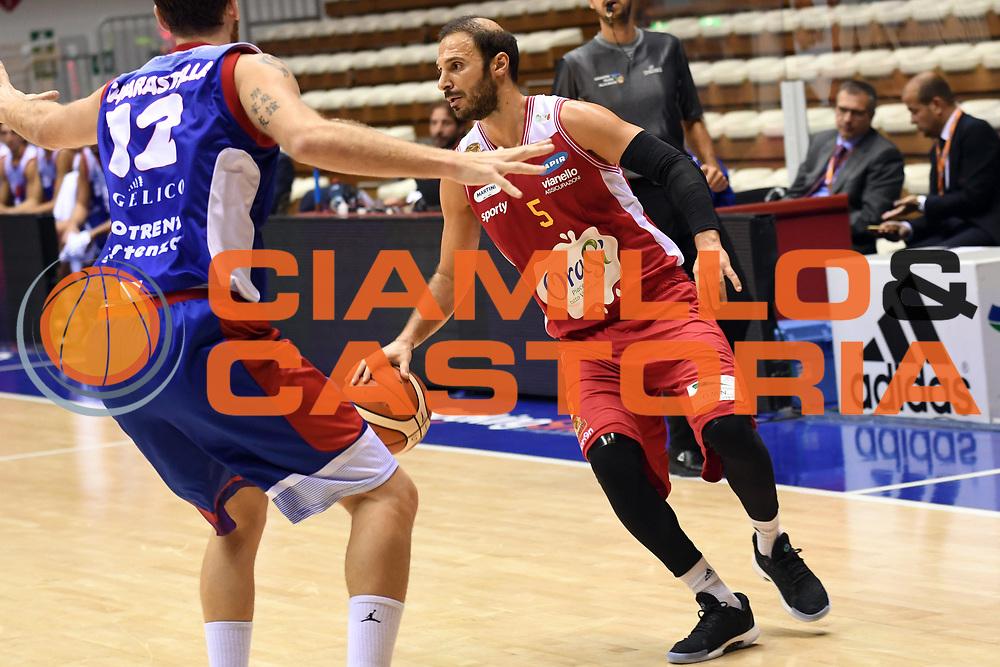 Jacopo Giachetti<br /> Eurotrend Assistenza Pallacanestro Biella - Ora Si Basket Ravenna<br /> LNP Supercoppa 2017 Old Wild West<br /> Finale 3 - 4 posto<br /> Trieste, 23/09/2017<br /> Foto M.Ceretti / Ciamillo - Castoria