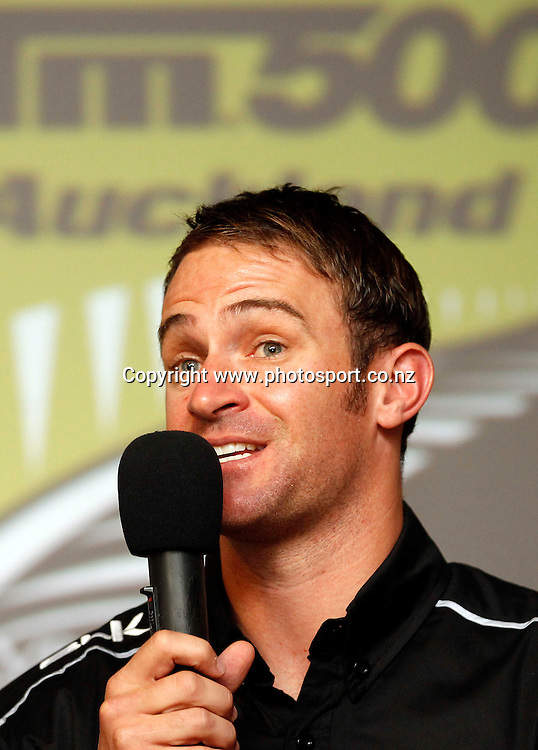Will Davison. V8 Supercar Drivers in the hot seat, RSA Fundraising Event, Pukekohe RSA. Wednesday 23rd April. Photo: Shane Wenzlick / www.photosport.co.nz