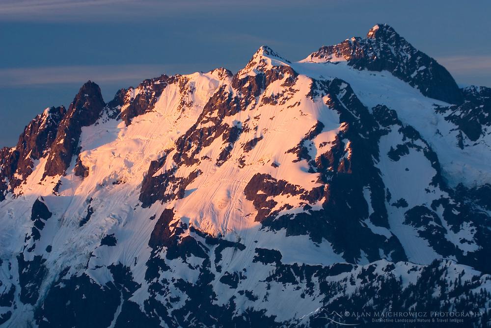 North Face of Mount Shuksan 9,127 feet (2,782 metres) North Cascades National Park Washington USA