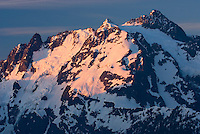 North Face of Mount Shuksan 9,127 feet (2,782 metres) North Cascades National Park Washington USA
