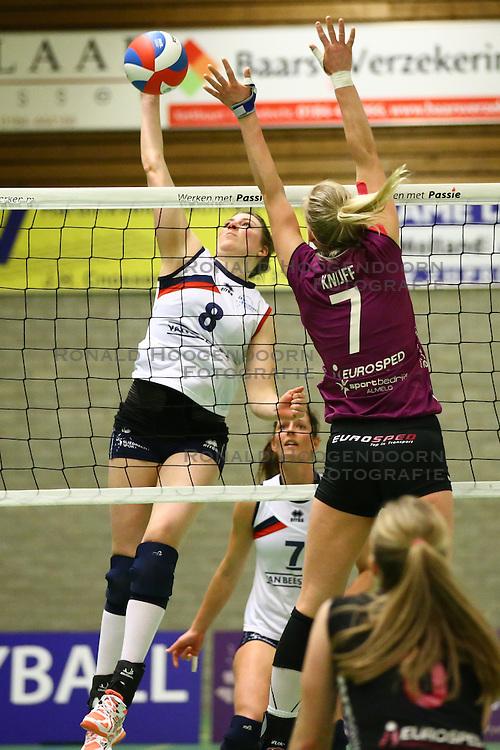 20160409 NED: Volleybal: Sliedrecht Sport - Eurosped TVT, Sliedrecht  <br />Lynn Thijssen