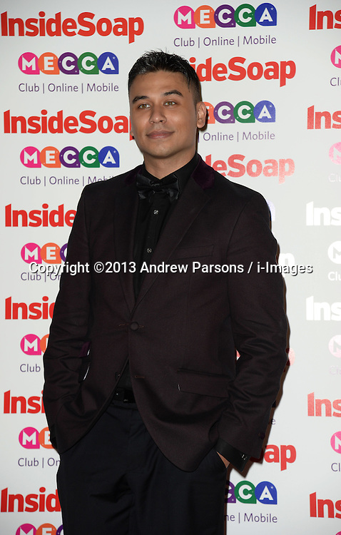 Ricky Norwood arrives for the Inside Soap Awards, Ministry of Sound, London, United Kingdom,<br /> Monday, 21st October 2013. Picture by Andrew Parsons / i-Images