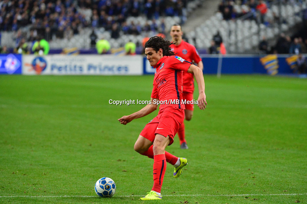 But Edinson CAVANI    - 11.04.2015 -  Bastia / PSG - Finale de la Coupe de la Ligue 2015<br />