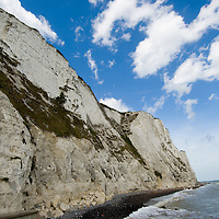 White cliffs at St. Margaret's at Cliffe