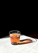 Sazerac at the Crunkleton in Chapel Hill, NC.
