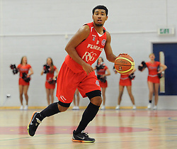 Bristol Flyers' Dwayne Lautier-Ogunleye - Photo mandatory by-line: Dougie Allward/JMP - Mobile: 07966 386802 - 13/03/2015 - SPORT - Basketball - Bristol - SGS Wise Campus - Bristol Flyers v Leicester Riders - British Basketball League