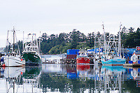 Yaquina Bay Harbor. Newport, OR.