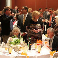 """Thomas Wells   Buy at PHOTOS.DJOURNAL.COM<br /> Guests begin to mingle before the start of Friday nights """"A Novel Affair"""" fund raiser featuring area chef John Currence of Oxford."""