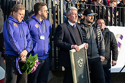 Ceremony for Marcos Tavares of NK Maribor before football match between NK Maribor and ND Gorica in 22nd Round of Prva liga Telekom Slovenije 2018/19, on March 09, 2019 in Ljudski Vrt, Maribor, Slovenia. Photo by Blaž Weindorfer / Sportida