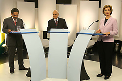 A candidata ao governo do Estado do RS Yeda Crusius durante debate da TV COM FOTO: Jefferson Bernardes/Preview.com